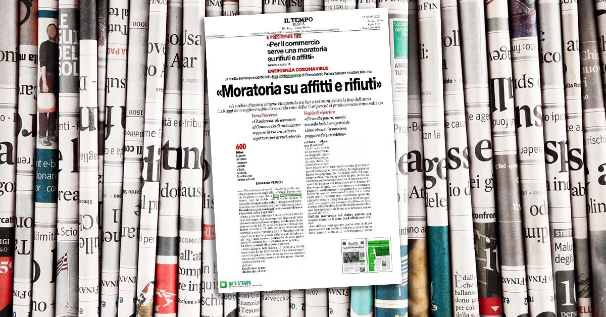 Intervista a Sergio Paoloantoni: «Per il commercio serve una moratoria su rifiuti e affitti»