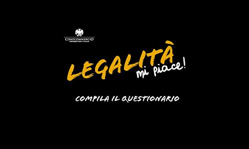 """""""LEGALITA', MI PIACE"""" 2017: COMPILA IL QUESTIONARIO! HAI TEMPO FINO AL 31 OTTOBRE"""