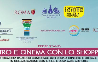 OSTIA: TEATRO E CINEMA CON LO SHOPPING