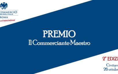 """""""IL COMMERCIANTE MAESTRO"""", CONFCOMMERCIO CIVITAVECCHIA HA PREMIATO ALTRI 20 IMPRENDITORI"""