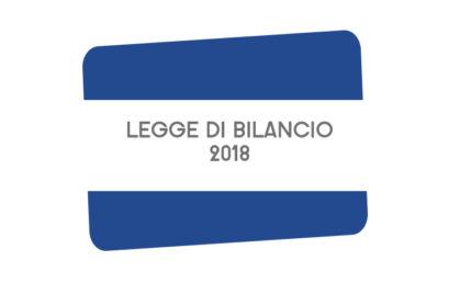 LEGGE DI BILANCIO: NUOVE MISURE SU FISCO, LAVORO E COMPETITIVITA'