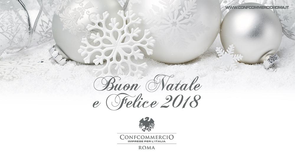 AUGURI DI BUONE FESTE DA CONFCOMMERCIO ROMA