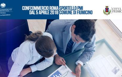 CONFCOMMERCIO ROMA APRE UN NUOVO SPORTELLO PER LE IMPRESE PRESSO IL COMUNE DI FIUMICINO