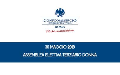 30 MAGGIO 2018, ASSEMBLEA ELETTIVA TERZIARIO DONNA