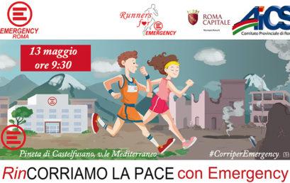 CONFCOMMERCIO ROMA SOSTIENE RUNNERS FOR EMERGENCY: CORRI CON NOI!