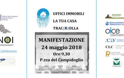 """FIMAA ROMA PARTECIPA ALLA MANIFESTAZIONE """"UFFICI IMMOBILI, LA TUA CASA TRAC(R)OLLA"""""""