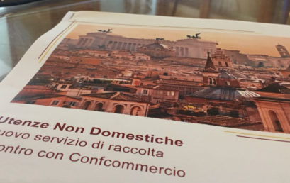 RIFIUTI, LA SINDACA PRESENTA A CONFCOMMERCIO ROMA LA NUOVA DIFFERENZIATA PER LE UTENZE NON DOMESTICHE