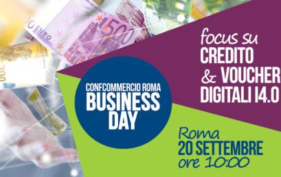 20 settembre BUSINESS DAY – CREDITO & VOUCHER DIGITALI I4.0