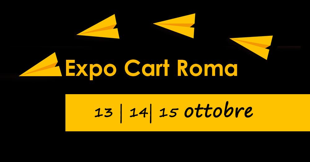 EXPOCART, DAL 13 OTTOBRE A ROMA LA 4^ EDIZIONE DELLA FIERA DELLA CARTOLERIA