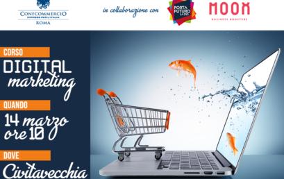 Il 14 marzo a Civitavecchia un corso dedicato al Digital Marketing