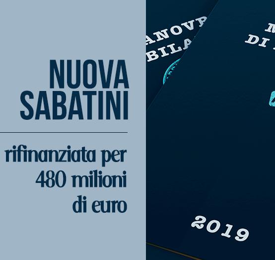 """""""Nuova Sabatini"""": 480 milioni di euro per l'acquisto di beni strumentali per la tua azienda."""