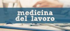 Banner medicina del lavoro