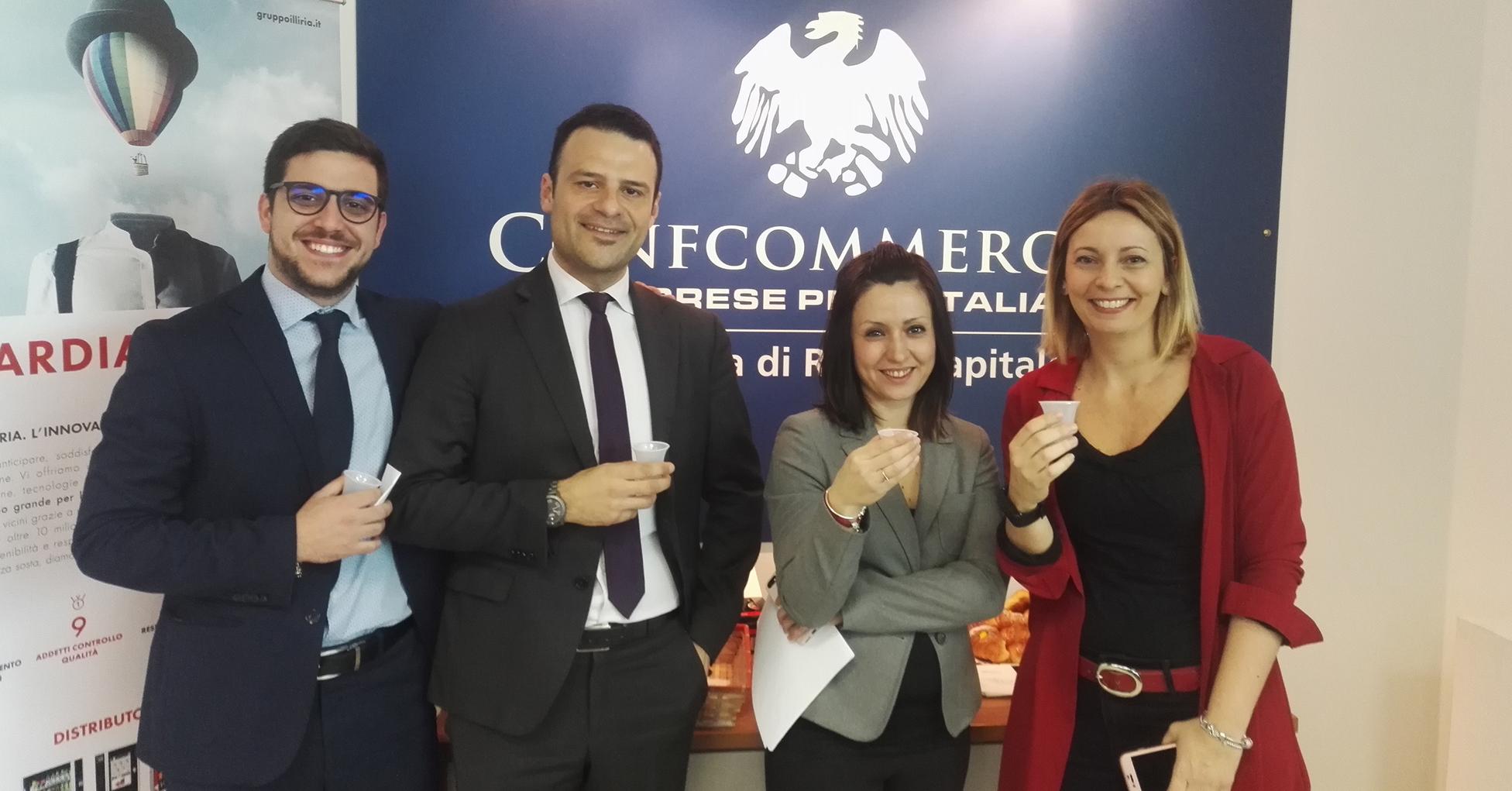#MELOMERITO un caffè! In Confcommercio Roma arriva Employerland per la ricerca e selezione del personale