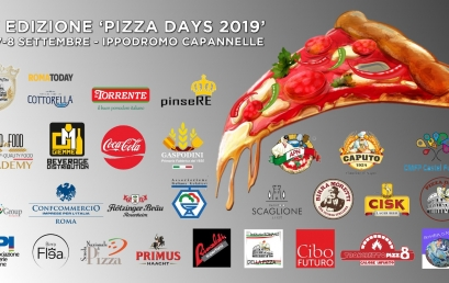 "Dal 6 all'8 settembre ""Pizza Days 2019"" all'Ippodromo Capannelle"