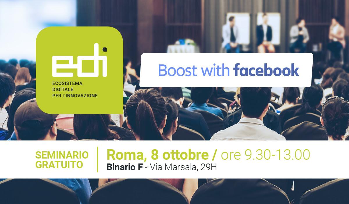 EDI e Facebook insieme per far crescere le competenze digitali delle imprese