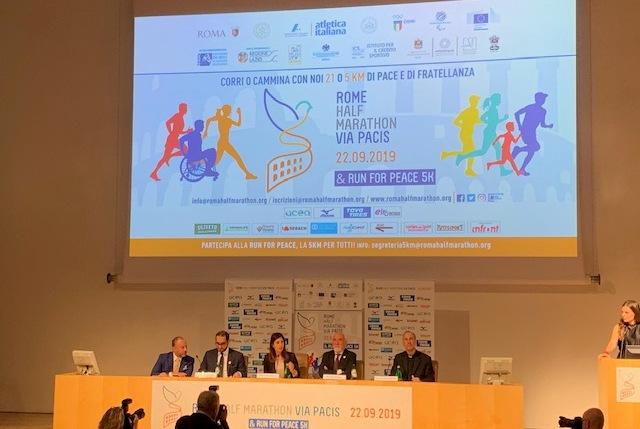 22 settembre | Terza edizione della Rome Half Marathon Via Pacis