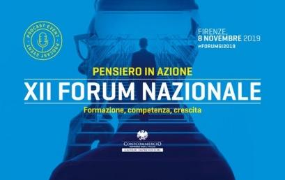 8 novembre, a Firenze il XII Forum dei Giovani Imprenditori di Confcommercio