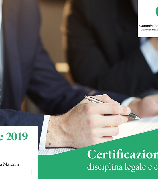 10 DICEMBRE | Certificazione dei contratti: disciplina legale e contrattazione collettiva