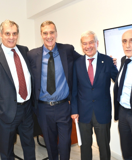 Confcommercio Lazio battesimo della nuova sede alla presenza del Presidente Nazionale Carlo Sangalli