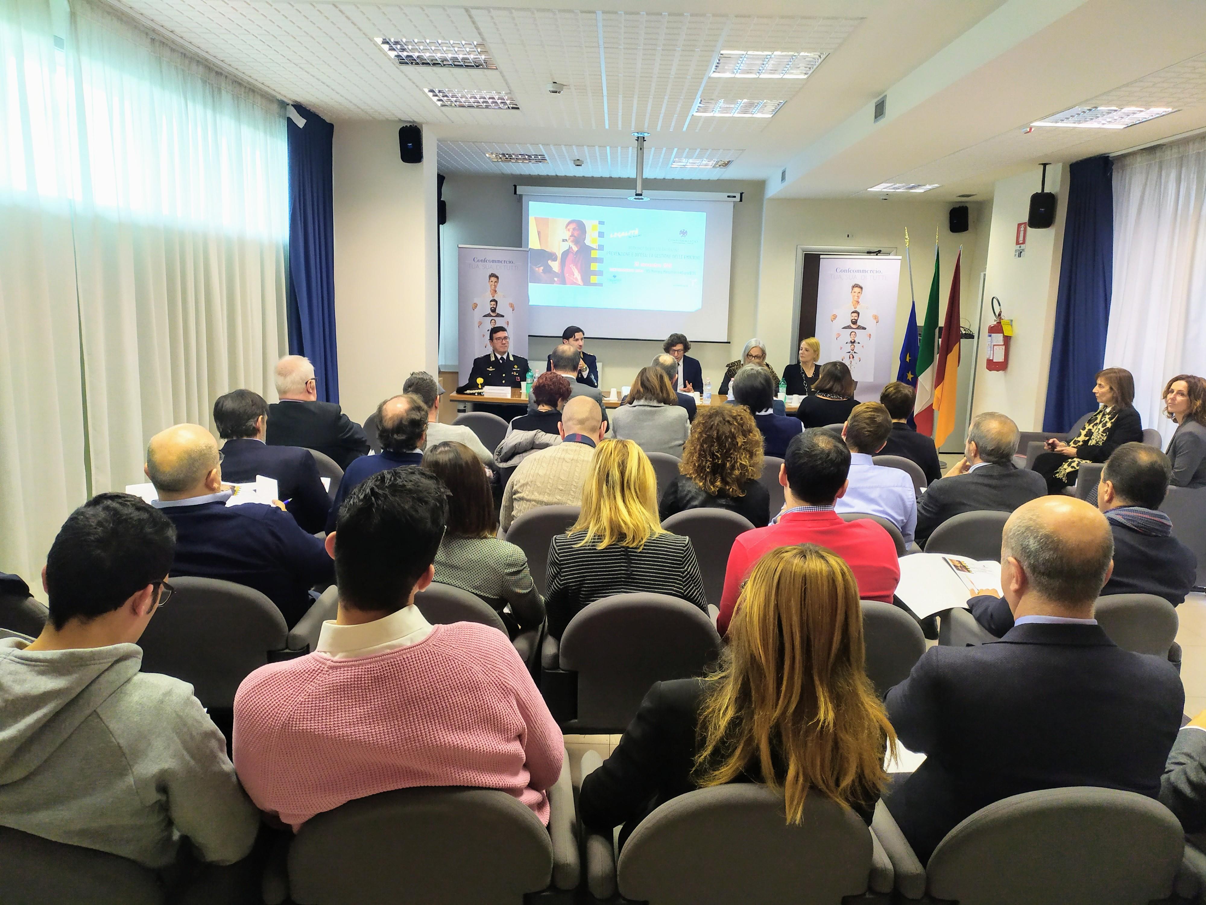Workshop Sicurezza Antirapina, un aiuto concreto per i commercianti