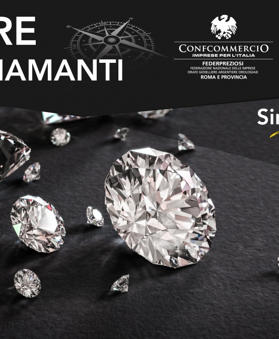 "14 NOVEMBRE | FEDERPREZIOSI ""Navigare tra i diamanti"""