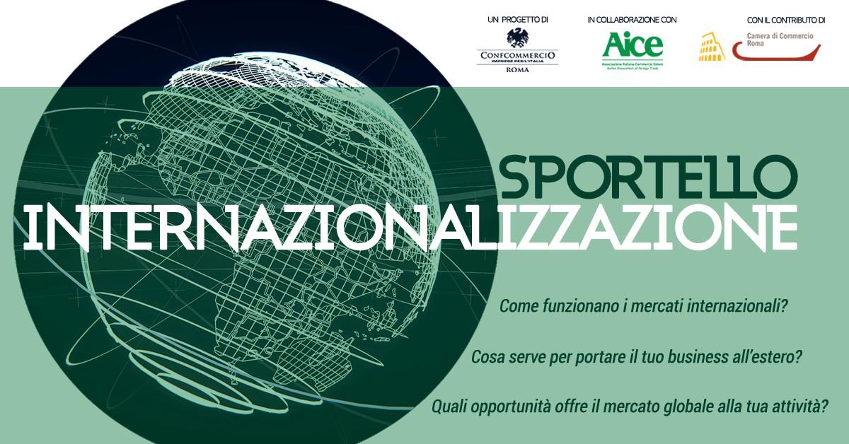 sportello internazionalizzazione