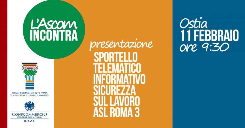Sportello telematico ASL ROMA 3