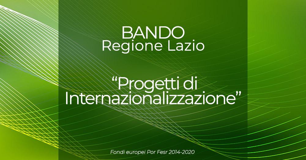 Internazionalizzazione: arrivano 5 milioni di euro dalla Regione Lazio