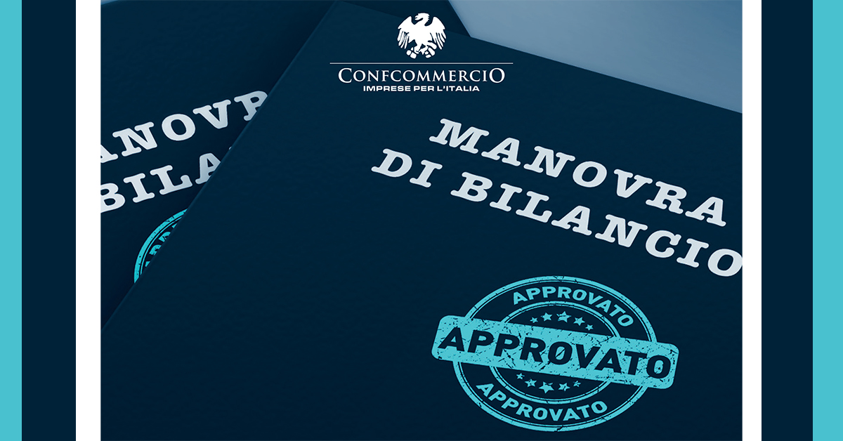 Manovra di Bilancio 2020: a tua disposizione la guida di Confcommercio