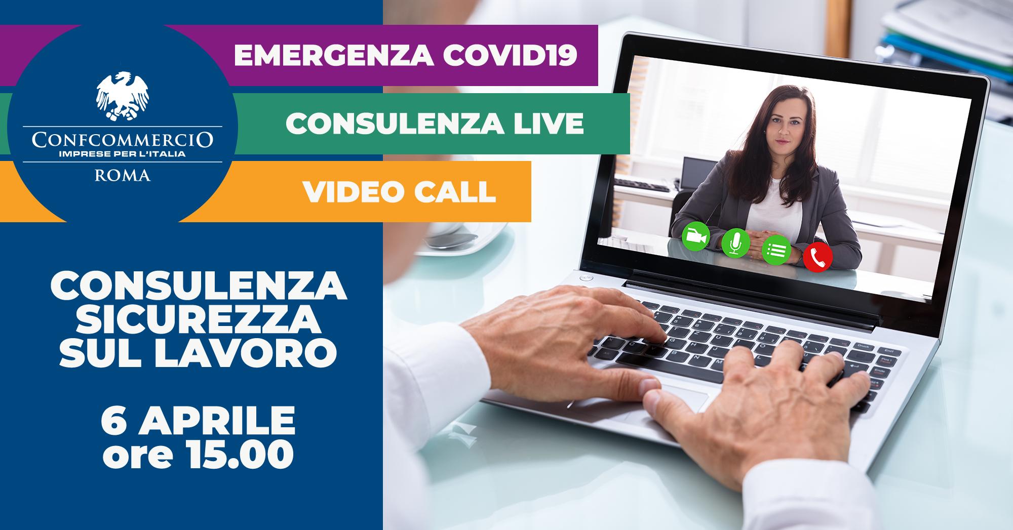 Il 6 aprile ti guideremo tra le nuove misure di protezione e prevenzione COVID19 in materia di salute e sicurezza nei luoghi di lavoro