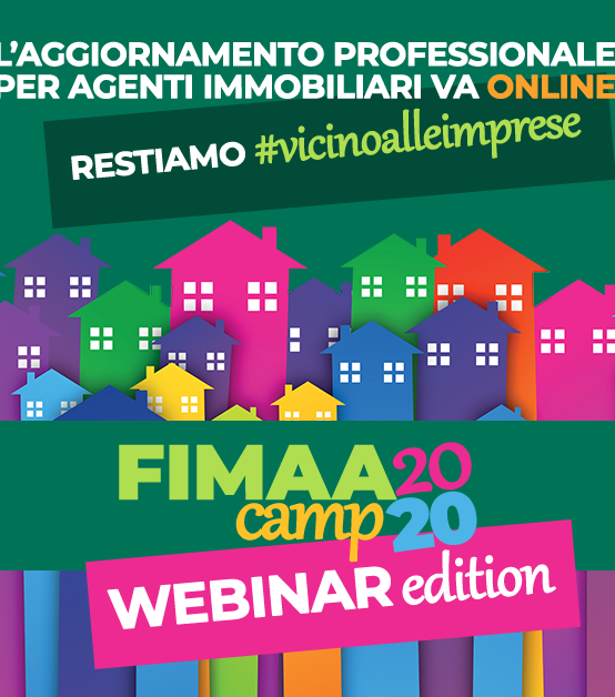"FIMAA CAMP 2020 ""webinar edition"": registrati subito!"