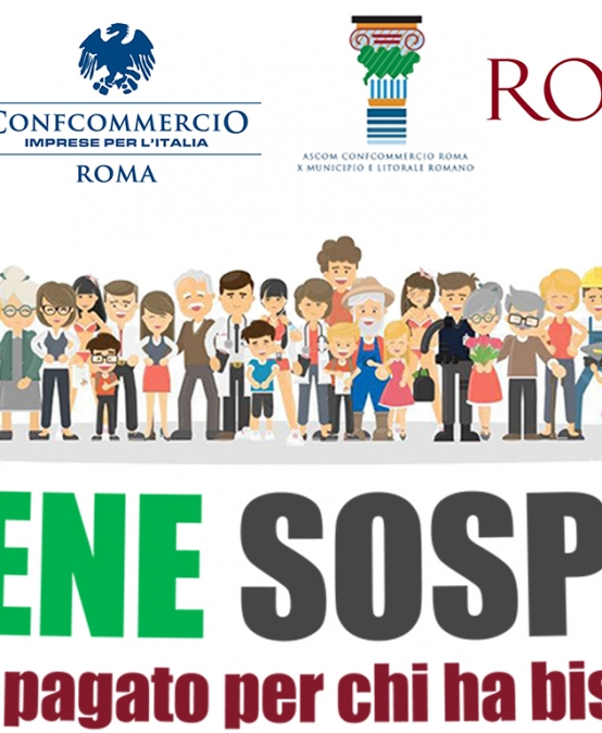 "Ascom Ostia aderisce all'iniziativa ""Bene Sospeso"""