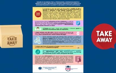 ASPORTO – Misure di sicurezza e informazioni utili