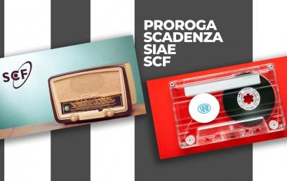 SIAE e SCF: ulteriori proroghe per la musica d'ambiente