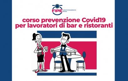 Richiedi il corso prevenzione Covid19 per lavoratori di bar e ristoranti