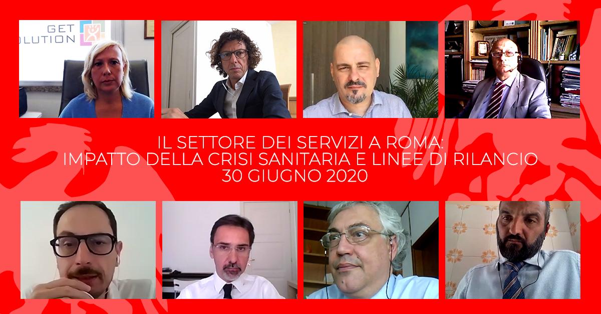 I Servizi a Roma e l'impatto della crisi sanitaria sul settore: presentata oggi l'indagine e avviato il confronto sulle linee di rilancio