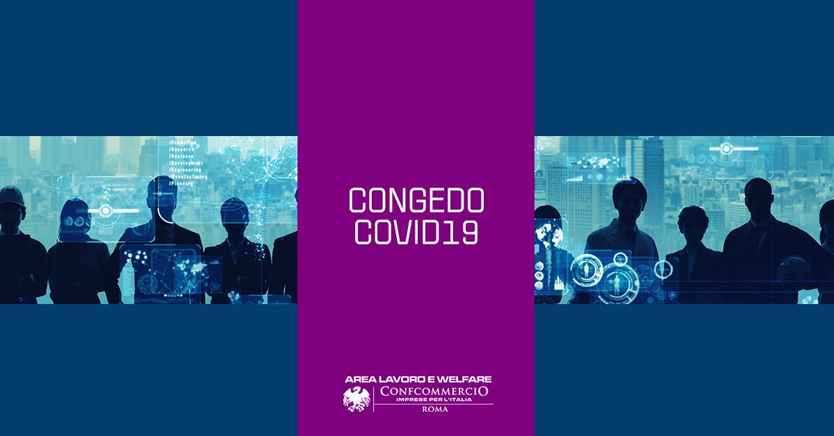 CONGEDO COVID-19 | Esteso il periodo di fruizione fino al 31 agosto 2020