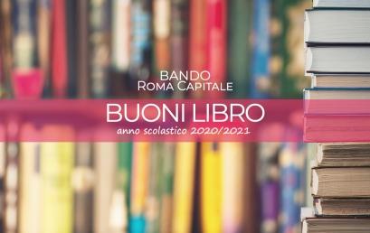 ROMA CAPITALE | Buoni libro anno scolastico 2020/2021