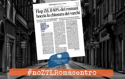 FLOP ZTL, il 60% dei romani boccia la chiusura dei varchi | #noZTLRomacentro