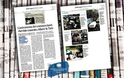 CONFCOMMERCIO | I commercianti sul piede di guerra: «Rifiuti ovunque? La Tari va ridotta»