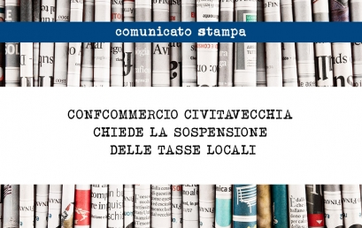 CONFCOMMERCIO CIVITAVECCHIA CHIEDE LA  SOSPENSIONE DELLE TASSE LOCALI