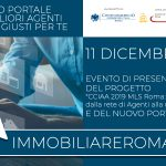 11 DICEMBRE | EVENTO DI PRESENTAZIONE IMMOBILIAREROMA.NET | FIMAA Roma