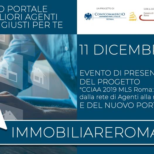 11 DICEMBRE   PRESENTAZIONE PROGETTO IMMOBILIAREROMA.NET - portale immobiliare