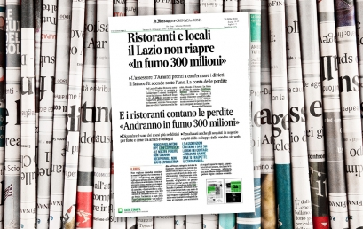Ristoranti e locali, il Lazio non riapre: «In fumo 300 milioni»