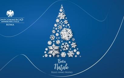 Buon Natale e Felice Anno Nuovo da Confcommercio Roma