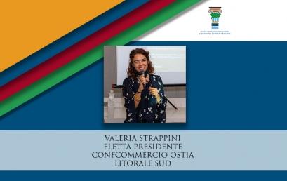 CONFCOMMERCIO OSTIA | Valeria Strappini eletta Presidente
