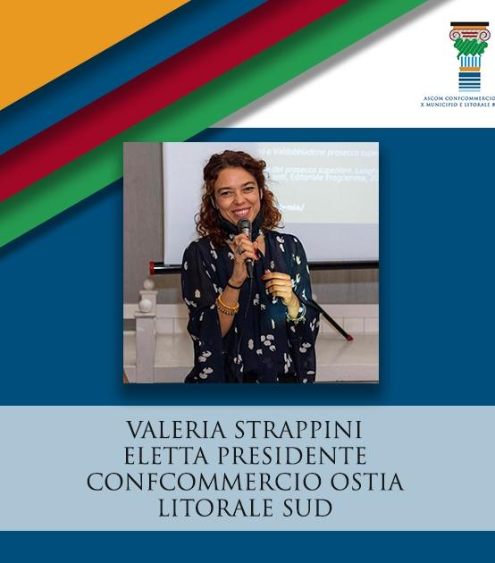 CONFCOMMERCIO OSTIA   Valeria Strappini eletta Presidente