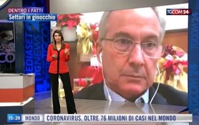 TGCOM 24 | Ristorazione in ginocchio, il Presidente Paolantoni intervistato su difficoltà e ristori