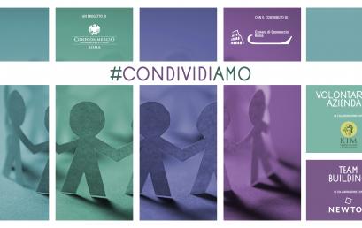 #CONDIVIDIAMO | Un nuovo progetto per superare le distanze e condividere valori nelle organizzazioni: partecipa con la tua azienda