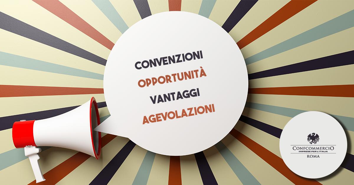 Convenzioni Confcommercio Roma